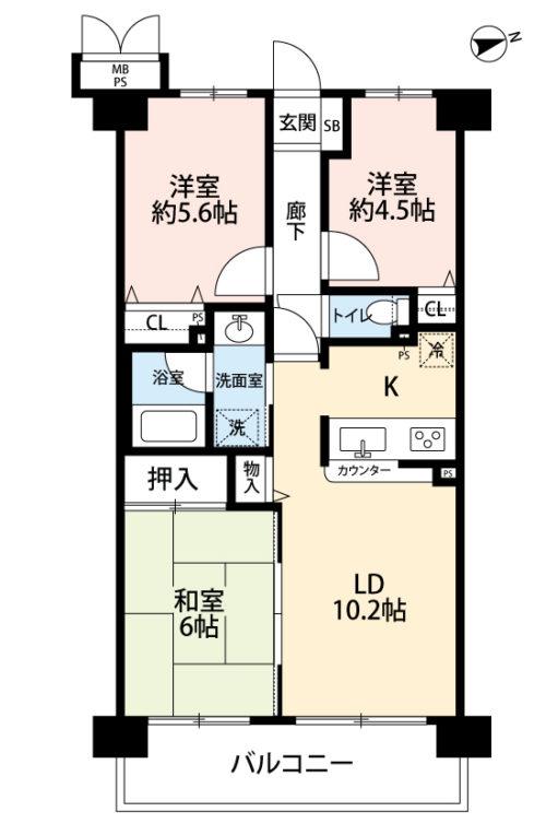 松戸市六高台7丁目 売マンション